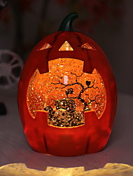 cheap -Halloween Pumpkin Bat Pattern Night Light Scene Layout Props Night Decoration Highly Decorative Suitable for Halloween 1pack