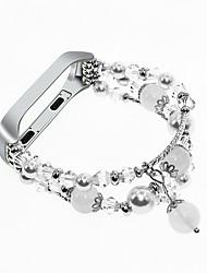Недорогие -интеллектуальный браслет ремешок для часов для группы mi 3 / xiaomi band 4 универсальный дизайн ювелирных изделий ремешок на запястье