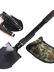 abordables -portable outils de jardin militaire multifonction pliant pelle en acier inoxydable survie pelle paddle camping en plein air outil de nettoyage