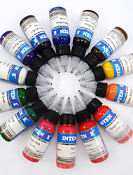 cheap -BaseKey Tattoo Ink 14*60 ml Professional - Multi-Color