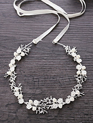 cheap -Alloy Headbands with Crystal / Rhinestone / Flower 1 Piece Wedding Headpiece