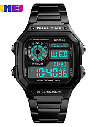 cheap -SKMEI 1335 Men Watch Countdown Compas  Waterproof LED Electronic Digital Sport Watch