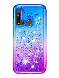 cheap -Case For Huawei P30/P30 Pro/P30 Lite Rhinestone Back Cover Glitter Shine / Color Gradient TPU For Huawei P20 Lite 2019/Honor 10i/Honor 10 Lite/P Smart 2019/Nova 5i/Enjoy 9s/Y7 2019/P Smart Plus 2019