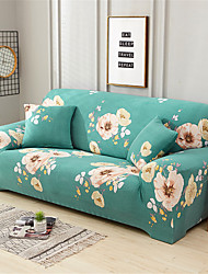 cheap -Sofa Cover Flowers in the Flourishing Age Print Printed Polyester Slipcovers