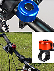cheap -Bike Bell Waterproof Portable Lightweight Alarm Durable for Road Bike Mountain Bike MTB Recreational Cycling Cycling Bicycle ABS Alloy Violet Red Blue 1 pcs