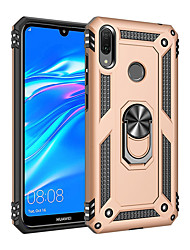 cheap -Luxury Armor Soft Shockproof Case For Huawei Y7 2019 Y7 Pro 2019 Silicone TPU Bumper Case For Huawei Y6 Pro 2019 Y6 2019 Y9 2019 Y5 2019 Car Metal Magnetic Finger Ring Cover