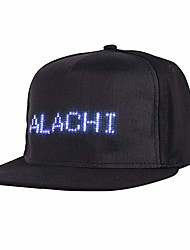 cheap -Bluetooth Led Hat Hip hop Street Dance Party Parade Sunscreen Hiking Night Running Fishing Cap
