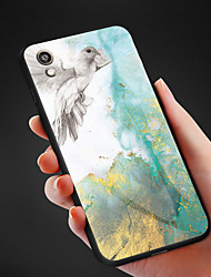 cheap -Marble Tempered Glass Case For Huawei Honor V20 Honor V10 Honor 8s Honor 7C Honor Play Silicone TPU edge Protective Case