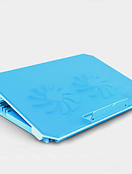 cheap -LITBest M11 Laptop Cooling Pad Aluminum Alloy ABS Plastic with USB Ports Adjustable Fan Speed Adjustable Angle Adjustable Height Fan