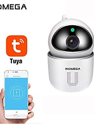cheap -INQMEGA Tuya 1080P Home Security IP Wifi Camera CCTV Kamera Wireless Network Mini Surveillance Camera Baby Monitor PTZ Motion Detection Night Vision