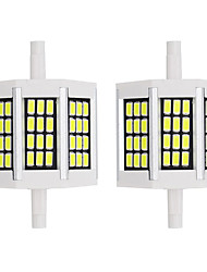 cheap -2pcs 5 W LED Corn Lights 500 lm R7S 36 LED Beads SMD 5733 Warm White White 220-240 V 110-120 V