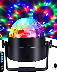 cheap -1 set LED Stage Lights Lanterns Sound Control Remote Control Magic Balls Colorful Rotating Lights Bar DJ Lights