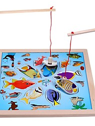 cheap -Fishing Toy Wooden Child's All Toy Gift
