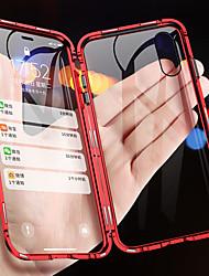 Недорогие -магнитный адсорбционный металлический чехол для телефона для iphone xs max xr xs x двусторонняя стеклянная магнитная крышка для iphone 8 плюс 8 7 плюс 7 6 плюс 6 противоударных чехлов