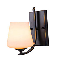cheap -Wall Lamp Indoor Wall Light Rustic Design Wall Sconces for Bedroom Corridor Black