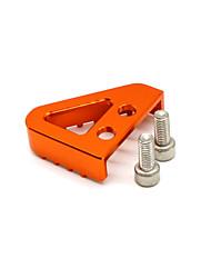 cheap -Rear Brake Pedal Step Gear Shift Lever Top For KTM 125 530 duke 690 990-Orange- 1* Brake Pedal Plate