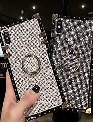 cheap -Case For Samsung Galaxy S9 / S9 Plus / S8 Plus/S8/S10/S10 Plus/S10e/Note 8/Note 9/M20/M30 Shockproof / Ring Holder Back Cover Glitter Shine Metal