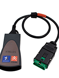 cheap -Lumpna Voiture Scanner Auto Diagbox PP2000 V7.83 Firmware with Car Full Chip Vehicle Diagnostic Tool Lastest Version Evolution for Citroen