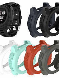 cheap -Light-weight Smart Protector Case Silicone Skin Protective Case Cover For Garmin Instinct Sports Watch