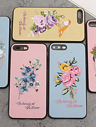 cheap -Case For Apple Applicable to iPhone XS Max Anti-drop Mobile Phone Case Vintage Embroidery XR Antique X Cloth Soft Rubber Shell 6/7/8P Chinese Style Fashion Street Brand 6/7/8/6S Couple Luxury High-end