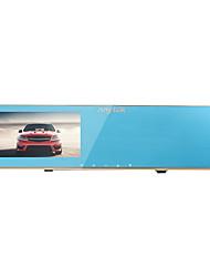 Недорогие -N8 720p / 1080p HD Автомобильный видеорегистратор 140° Широкий угол 4.3 дюймовый Капюшон с G-Sensor / Обноружение движения / Циклическая запись 4 инфракрасных LED Автомобильный рекордер