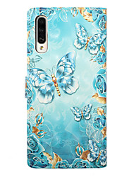cheap -Case For Samsung Galaxy A30(2019) Galaxy A50(2019) Phone Case PU Leather Material 3D Painted Pattern Phone Case