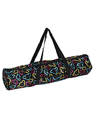 cheap -Waterproof Canvas Practical Yoga Pilates Mat Carry Strap Drawstring Bag Sport Exercise Gym Fitness Backpack for Yoga Mat