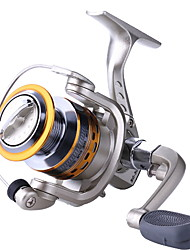 cheap -Fishing Reel Spinning Reel 4.1/1 Gear Ratio+11 Ball Bearings Hand Orientation Exchangable Bait Casting
