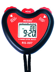 cheap -Men's Women's Sport Watch Stopwatch Japanese Digital Black 30 m Creative New Design Alarm Clock Digital Outdoor Fashion - Red Two Years Battery Life