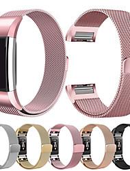 abordables -bracelet milanese pour fitbit charge 2 smart band bracelet de remise en forme en acier bracelet de fitness pour fitbit charge 2