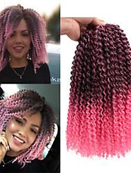 cheap -Crochet Hair Braids Passion Twist Box Braids Natural Color Synthetic Hair Braiding Hair 3 Pieces Ombre Hair