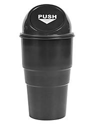 Недорогие -мини мусорное ведро авто творческий мусорное ведро автомобиль пылесборник ящик для мусора 4 цвета