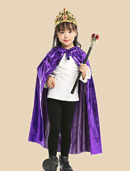 cheap -Inspired by Cosplay Hogwarts School of Witchcraft and Wizardry Anime Cosplay Costumes Japanese Cosplay Suits Cloak / Tiaras / Wand For Girls'