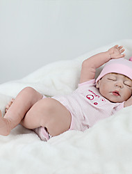 cheap -NPK DOLL Reborn Doll Reborn Toddler Doll Baby Boy Baby Girl 22 inch Silicone - Safety Gift Cute Kid's Unisex Toy Gift