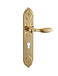 Недорогие -L36-36-24K Дверные ручки Механический ключ Медь