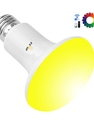 Недорогие -Exup 10 Вт R80 Smart Bulbs RGBBC E27 SMD5730 Звук Активированное приложение Smart LED лампы Поддержка Amazon Echo Google Home AC85-265V