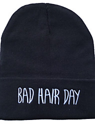 cheap -Kids / Toddler Unisex Active / Basic Letter Hats & Caps Black / Gray One-Size