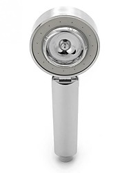 cheap -Double-sided Shower Head Water Saving Round ABS Chrome Booster Bath Shower High Pressure Handheld Hand Shower