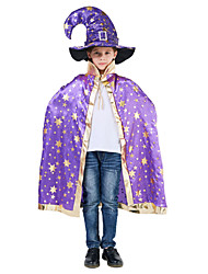 cheap -Inspired by Cosplay Hogwarts School of Witchcraft and Wizardry Anime Cosplay Costumes Japanese Cosplay Suits Cloak / Hat / Bucket For Boys' / Girls'