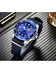cheap -Men's Mechanical Watch Analog Automatic self-winding Formal Style Modern Style Luxury Water Resistant / Waterproof Noctilucent / Nylon