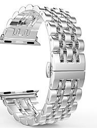 Недорогие -ремешок для часов для яблока серии 4/3/2/1 яблоко ювелирный дизайн браслет из нержавеющей стали