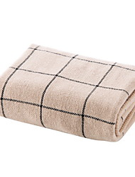 Недорогие -Высшее качество Полотенца для мытья, Клетки Хлопко-льняная смешанная ткань 1 pcs