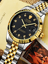 cheap -Tevise Men's Dress Watch Mechanical Watch Analog Automatic self-winding Luxury Shock Resistant