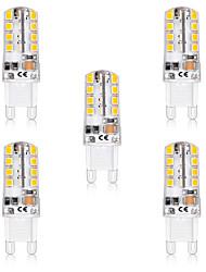 cheap -5pcs 5 W LED Bi-pin Lights 300 lm G9 T 32 LED Beads SMD 2835 Warm White White 220-240 V 110-120 V
