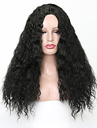cheap -Synthetic Wig Body Wave Layered Haircut Wig Very Long Natural Black Synthetic Hair 58~62 inch Women's New Arrival Black