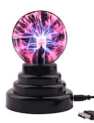 Недорогие -3D ночной свет Меняет цвета / С портом USB Сенсорный USB 1шт