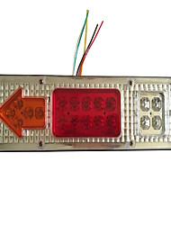 abordables -led queue arrière étanche étanche stop stop feu de signalisation clignotant lampe témoin pour remorque de camion moto