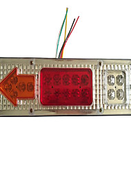 cheap -LED Tail Rear Waterproof Light Stop Reverse Brake Signal Light Turn Indicator Lamp for Motorcycle Truck Trailer