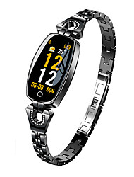 cheap -Women's Smartwatch Digital Modern Style Sporty 30 m Water Resistant / Waterproof Heart Rate Monitor Bluetooth Digital Casual Outdoor - Black Gold Silver