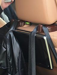 cheap -Car backseat hangers car headrest assembly hanger organizer hanging hooks car interior accessories black